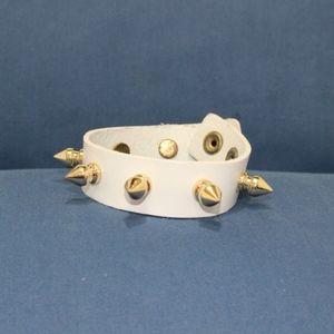 Jewelry - Tamina by Stella Bangle Bracelet Punk Gold Spikes